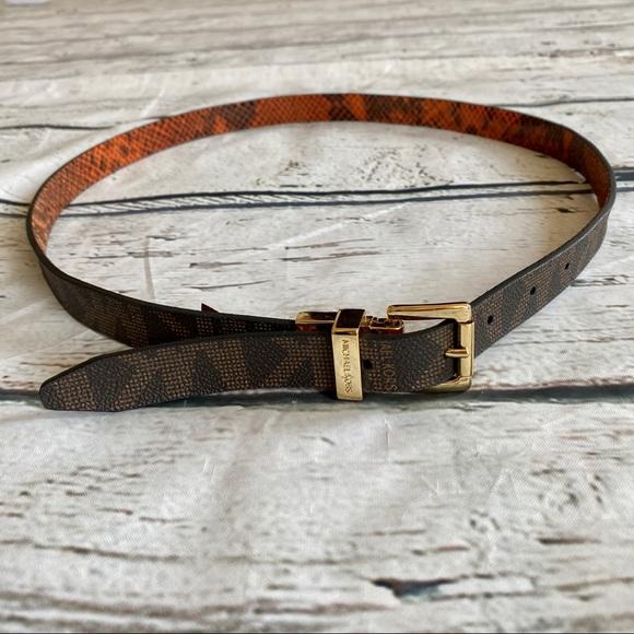 Michael Kors Fashion Reversible Belt